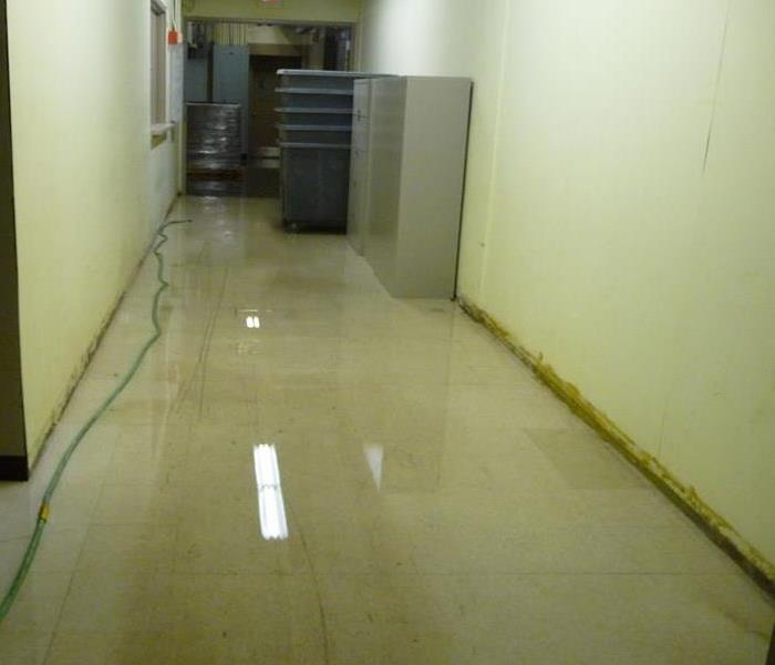 Commercial Water Loss Fall River, MA  Before