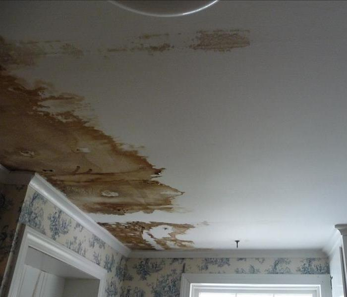 Water Damage in Mansfield, MA Before